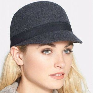 NWT Nordstrom Phase 3 Brown Wool Cloche